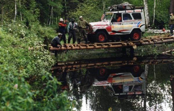 Сибирский Марафон 2001: Обь-Енисейский канал