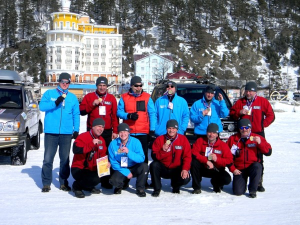 Байкал Трофи 2012 финиш